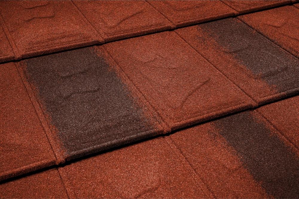 metrotile islate red brown